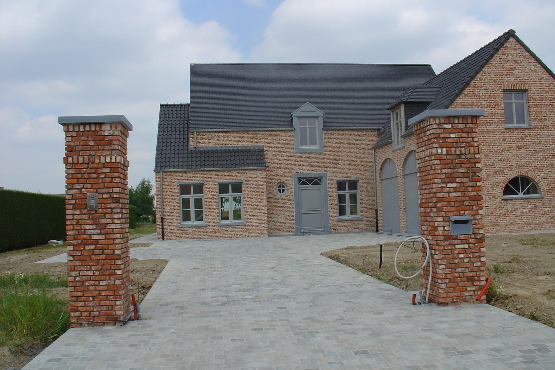 Galerij bouwbedrijf rik teirlinck bvba - Foto buitenkant terras ...